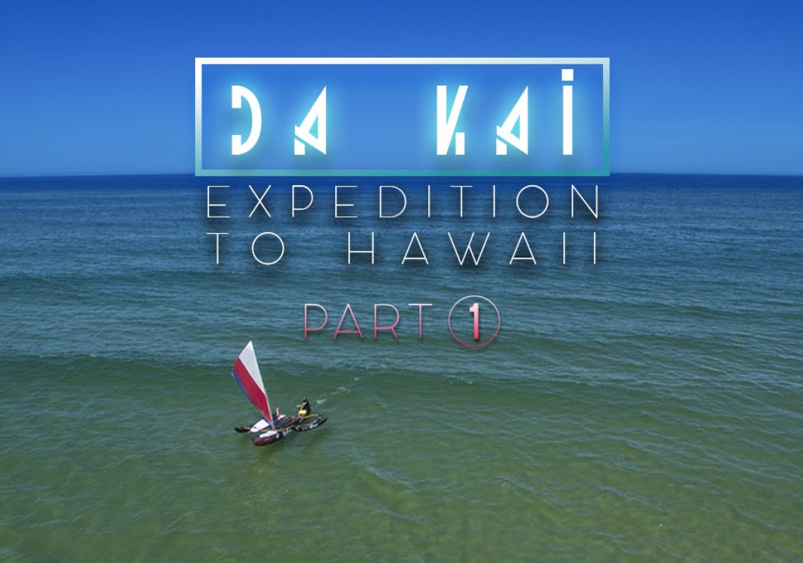 Da Kaï, a one week expeditiion on a OC4 outrigger canoe