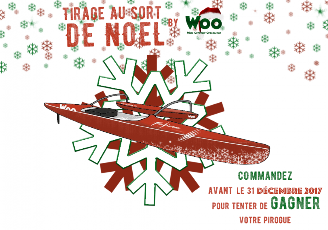 Christmas Competition : Try to win your outrigger canoe !