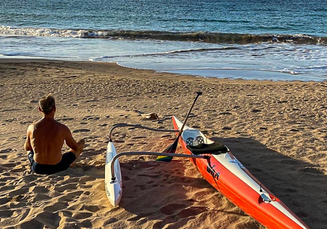 Yoga Outrigger Canoe